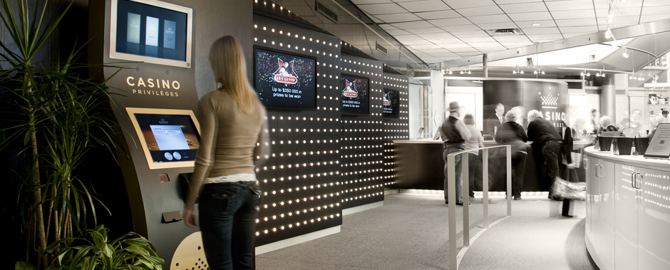 Montreal Casino | Timbec Interactive Kiosks for Members