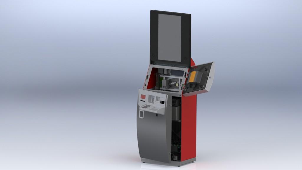 Kiosk rendering 3