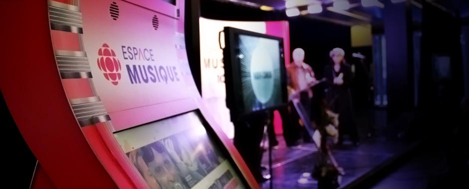 Bornes Interactives de l'Espace Musique